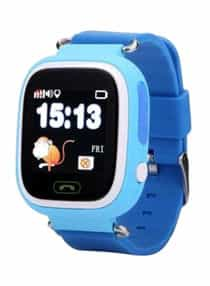 Compare Stylish Smart Watch With GPS  Tracker Blue  at KSA Price
