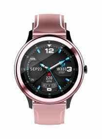 Compare G28  Smartwatch Pink Black  at KSA Price