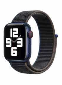 Compare Replacement Sports Band For  Apple Watch 40mm Black Charcoal  at KSA Price