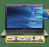 """LENOVO 15.6"""" I5-500G-4G #G570"""