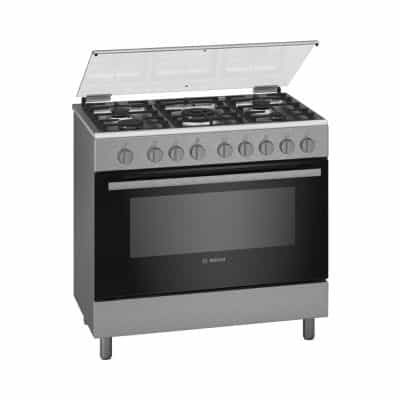 Bosch HGI12TQ59M 5 Burner Gas Cooker with Gas…