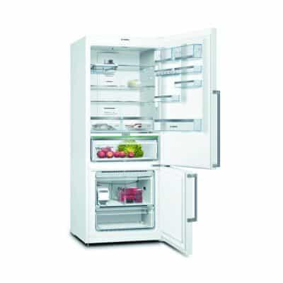 Bosch KGN76AW40B Bottom Freezer No Frost Refrigerator…