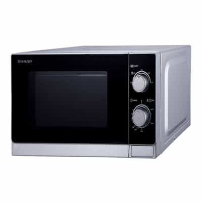 Sharp R-20AS(S) Microwave Oven 20 Litres Silver