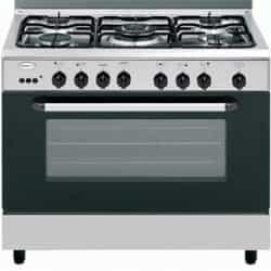 Glem Gas 5 Burner Gas cooker - Silver…