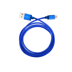 Goui 8 Pin 1 Meter Lightning To USB Cable – Blue