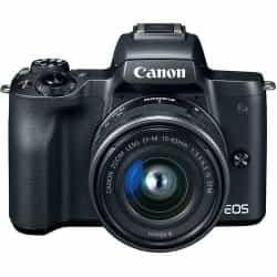 Canon EOS M50 Mirrorless Digital Camera With…