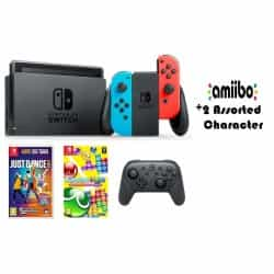 Nintendo Switch (Colored Joy-Con) Portable Gaming…