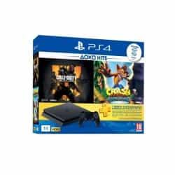 Compare PlayStation 4  Slim 1TB  +  COD  Black Ops  +  Crash Bandicoot +  PSN  1  Month at KSA Price