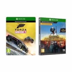 Compare Microsoft Forza Horizon 3  +  Playerunknown s Battlegrounds: Xbox One  Game  CODE  at KSA Price
