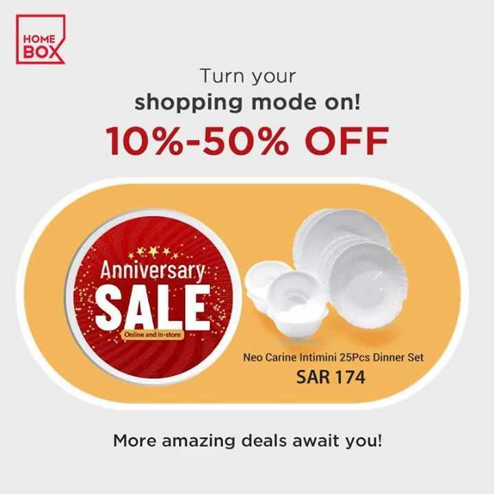 Sale in Homebox